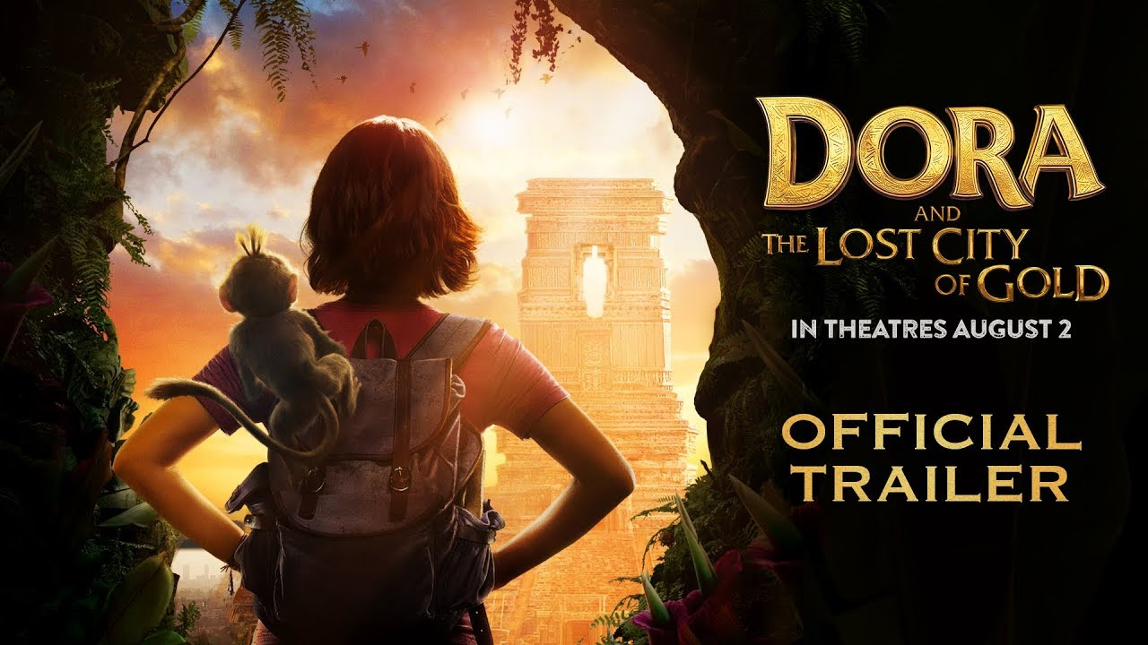 Photo of Dora and the Lost City of Gold – Official Trailer – Paramount Pictures