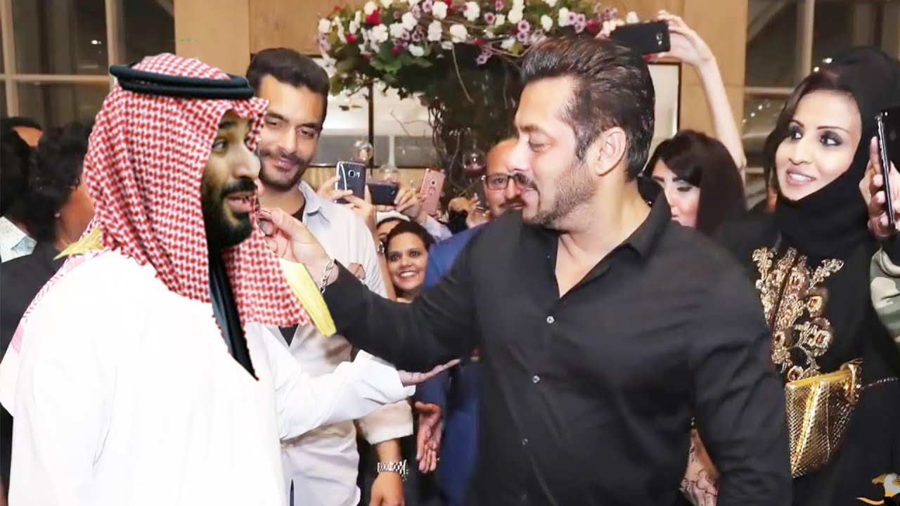 Photo of Salman Khan & Saudi Crown Prince Salman Meet With Saudi Film Festival