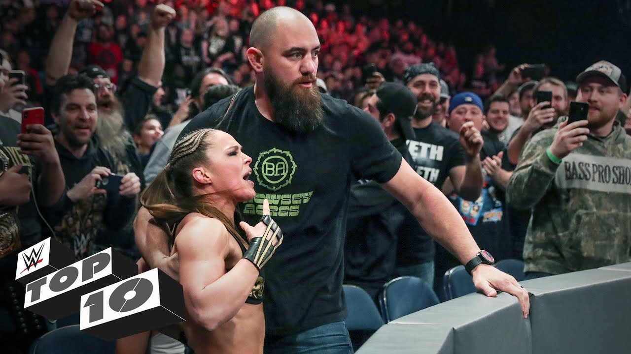 Photo of Ferocious front-row altercations: WWE Top 10, March 23, 2019