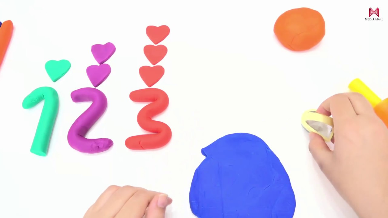 Photo of Learning Numbers with PLAY DOH. Videos for Children. 1 to 10 👍