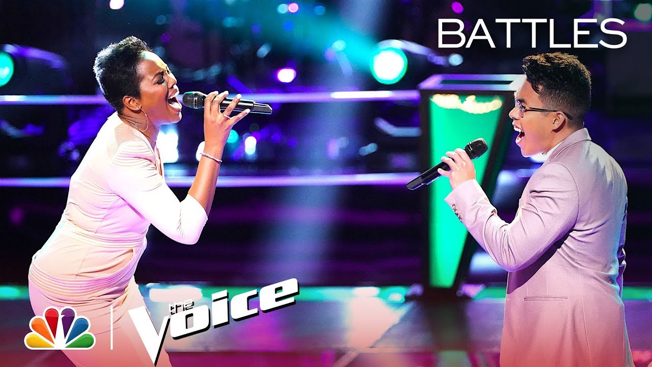 """Photo of Beth Griffith-Manley and Jej Vinson Stun with """"Jealous"""" – The Voice Battles 2019"""