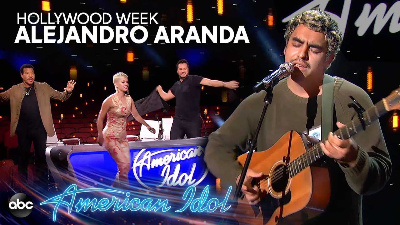 "Photo of Alejandro Aranda Sings ""Sorry"" by Justin Bieber at Hollywood Week – American Idol 2019 on ABC"