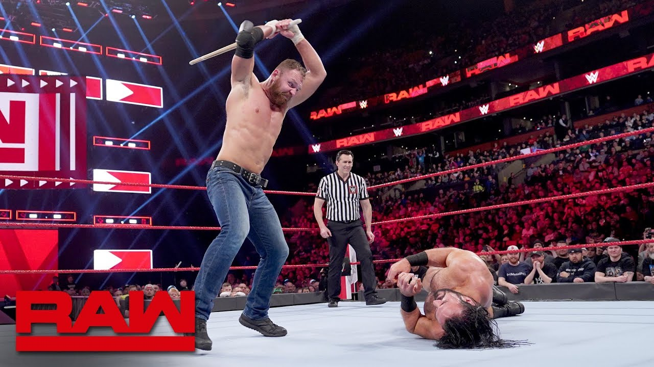 Photo of Dean Ambrose vs. Drew McIntyre – Last Man Standing Match: Raw, March 25, 2019
