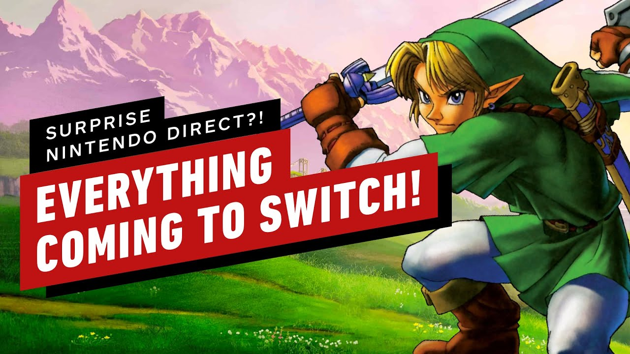 Everything Coming To Switch – April Fools 2019
