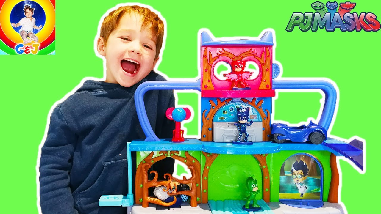 Photo of فيديو اطفال PJ Masks Headquarters Toy Review ⭐ Unbox and Pretend Play 🌈