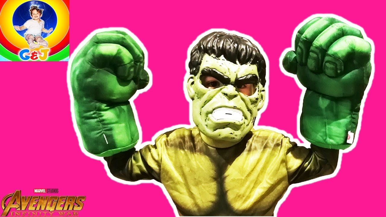 Photo of فيديو اطفال Avengers Infinity War Toys Unboxing ⭐ Pretend Play with Jack as The Hulk 😜