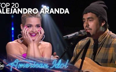 """Alejandro Aranda Performs """"I Fall Apart"""" by Post Malone for Top 20 Solos – American Idol 2019 on ABC"""