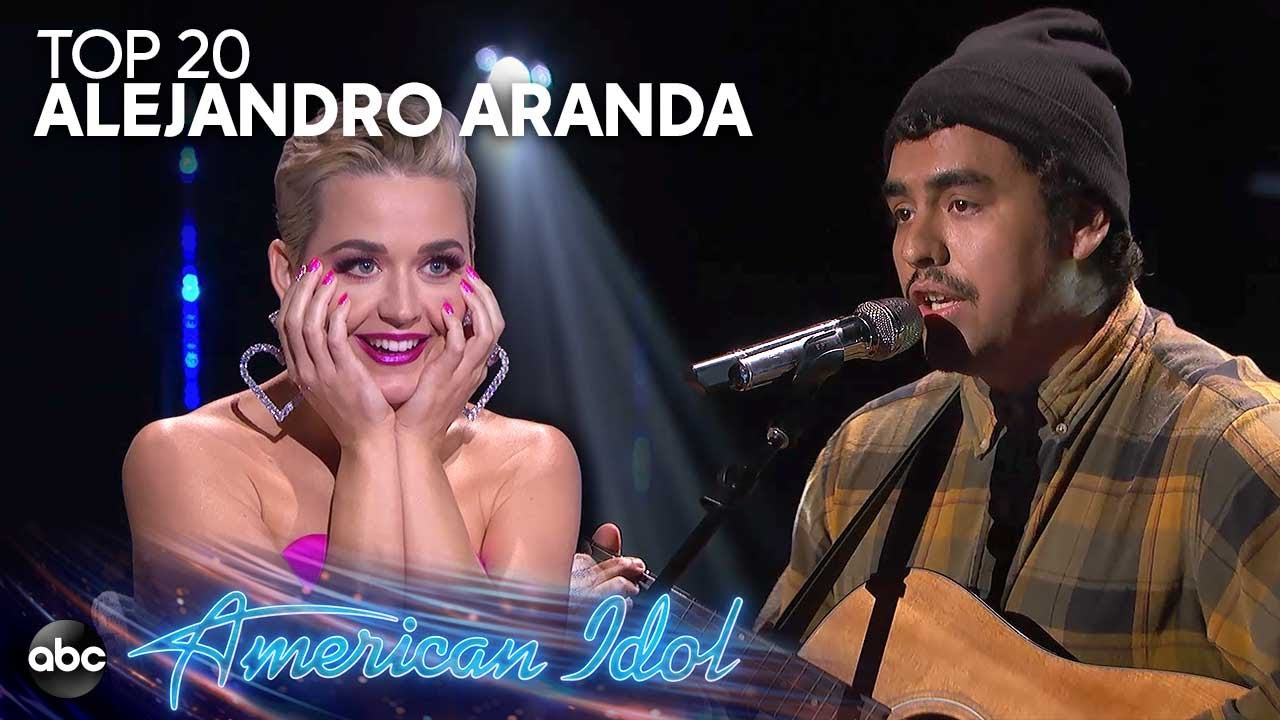"Alejandro Aranda Performs ""I Fall Apart"" by Post Malone for Top 20 Solos – American Idol 2019 on ABC"
