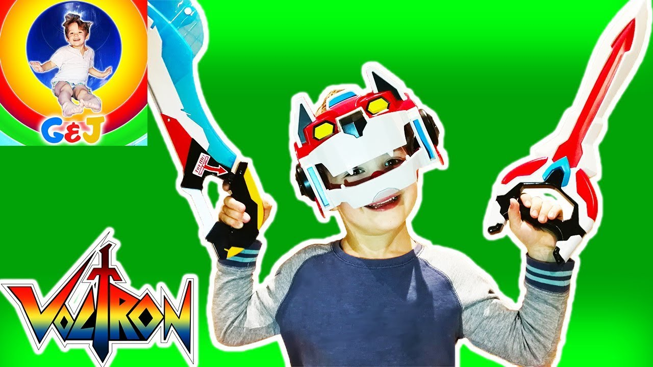 Photo of فيديو اطفال Voltron Toys Laser Sword and Red Lion Mask Toy Review ⚡ Pretend Play Kids Toys Fun 😊