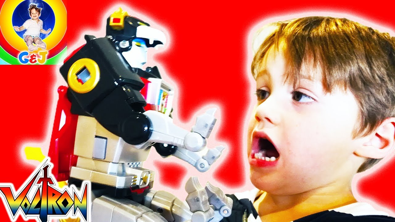Photo of فيديو اطفال Voltron Black Lion Toy Review 😍 Pretend Play Kids Toys Fun ⭐