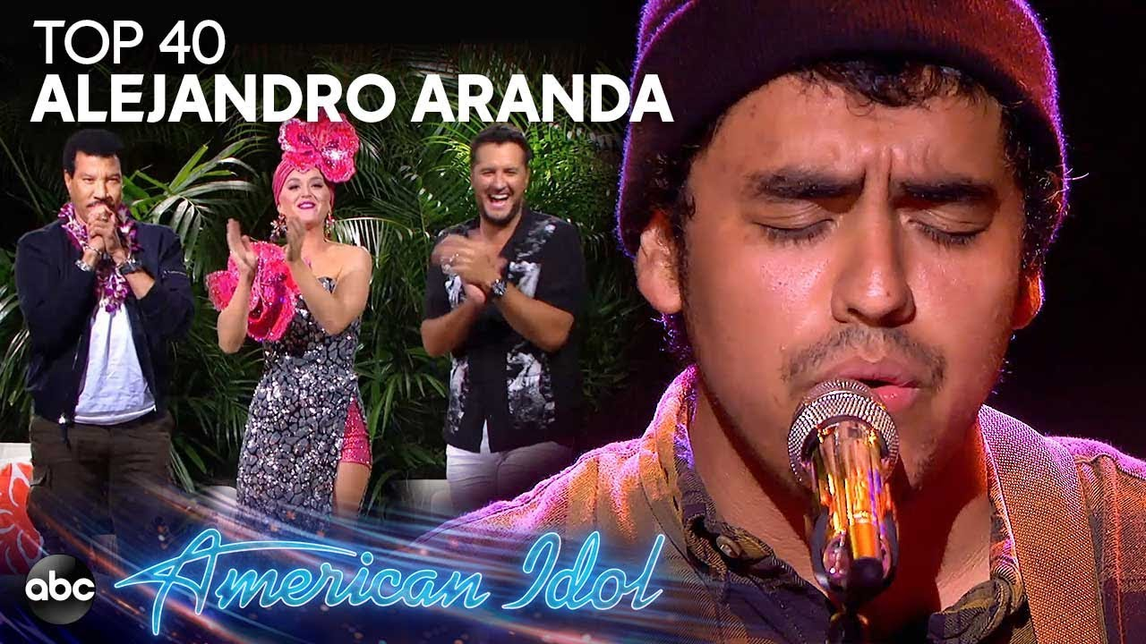 "Alejandro Aranda Sings ""Yellow"" by Coldplay at Disney Aulani – American Idol 2019 on ABC"
