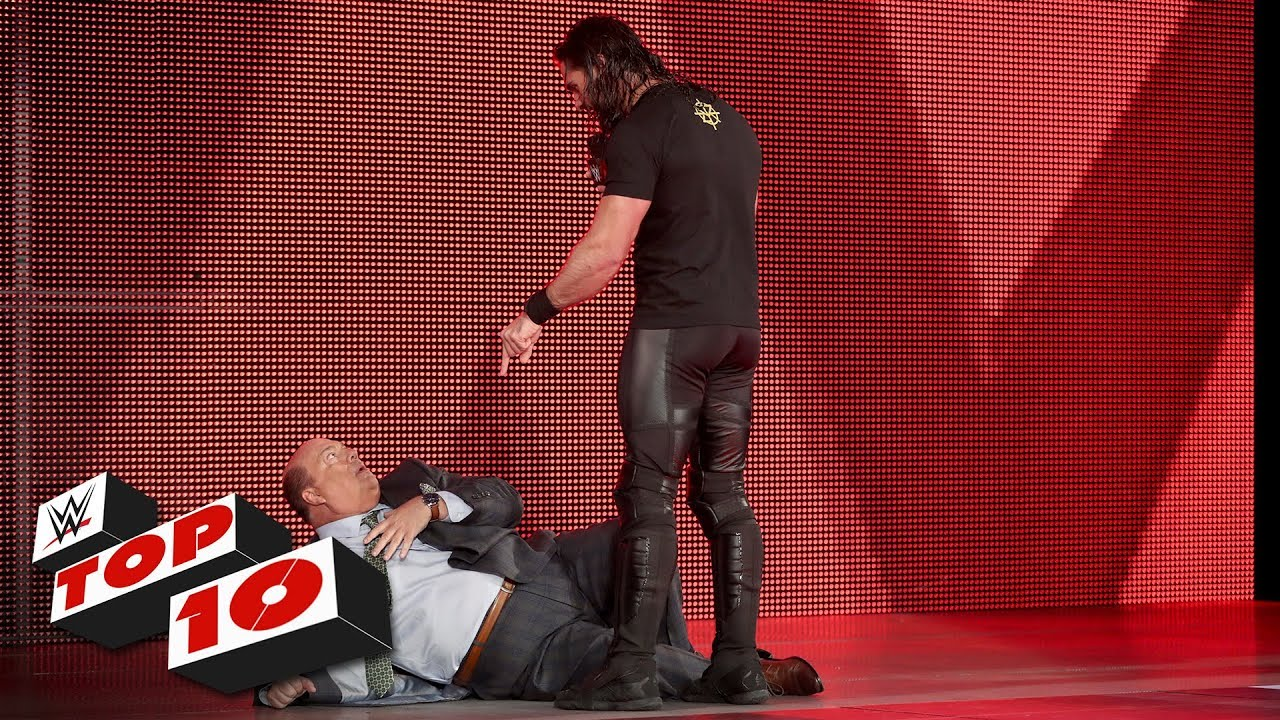 Photo of Top 10 Raw moments: WWE Top 10, March 25, 2019