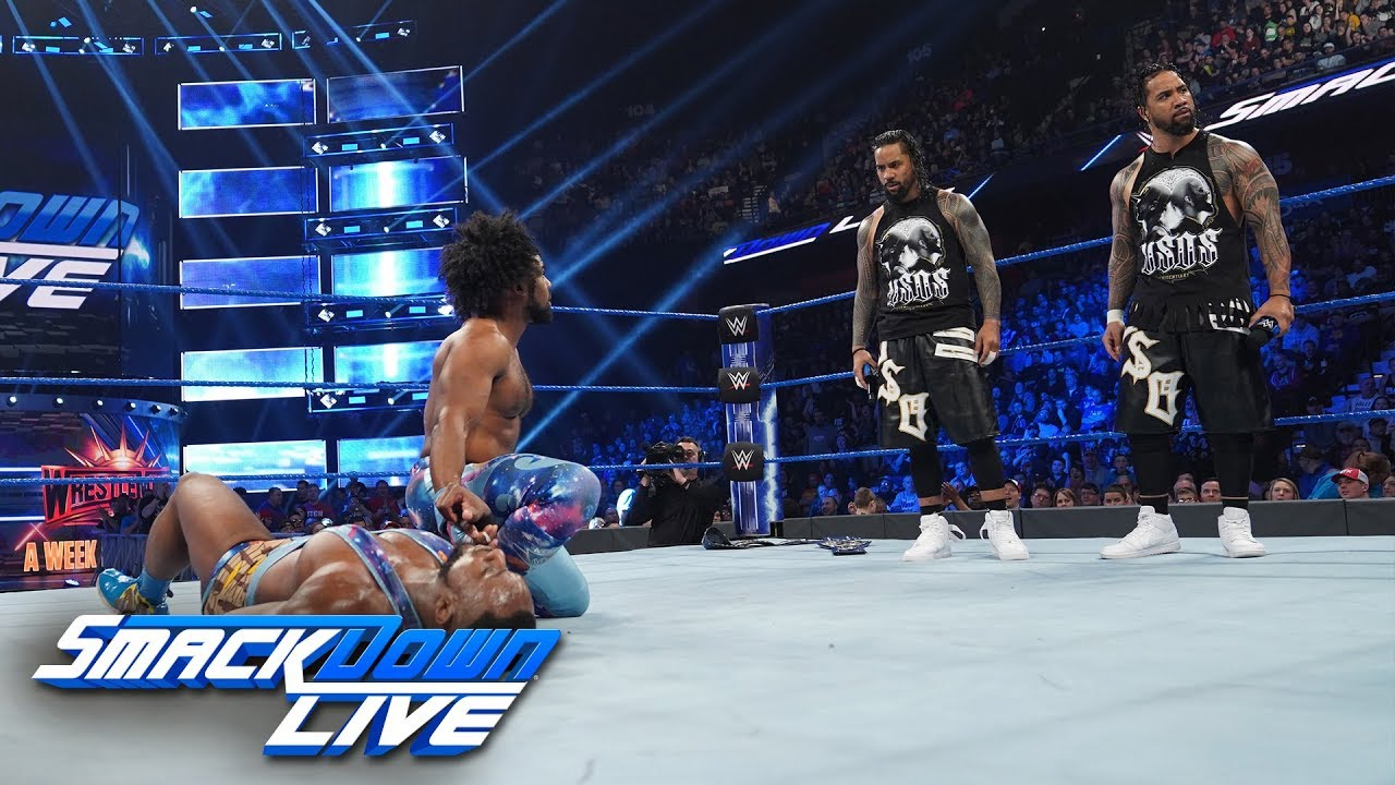 The New Day vs. The Usos – Gauntlet Match Part 4: SmackDown LIVE, March 26, 2019