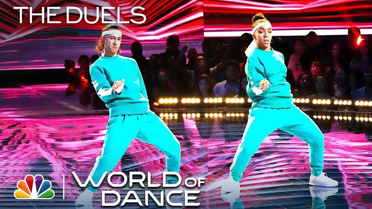 """Julian & Charlize's """"New Level"""" Is Rewind-Worthy – World of Dance 2019 (Full Performance)"""