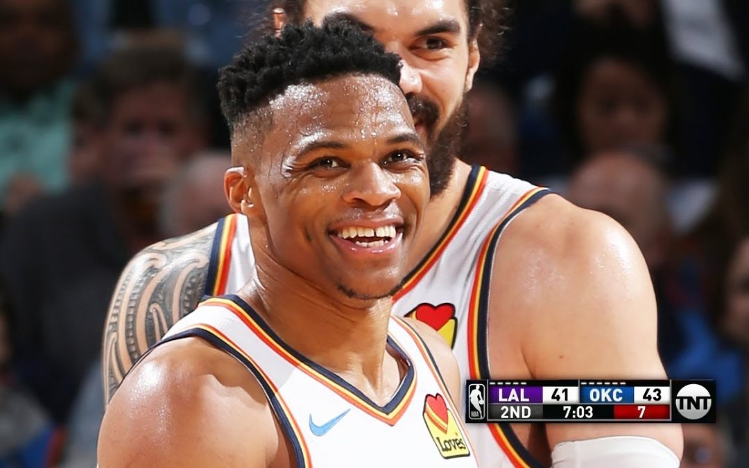 LA Lakers vs OKC Thunder – Full Game Highlights | April 2, 2019 | 2018-19 NBA Season