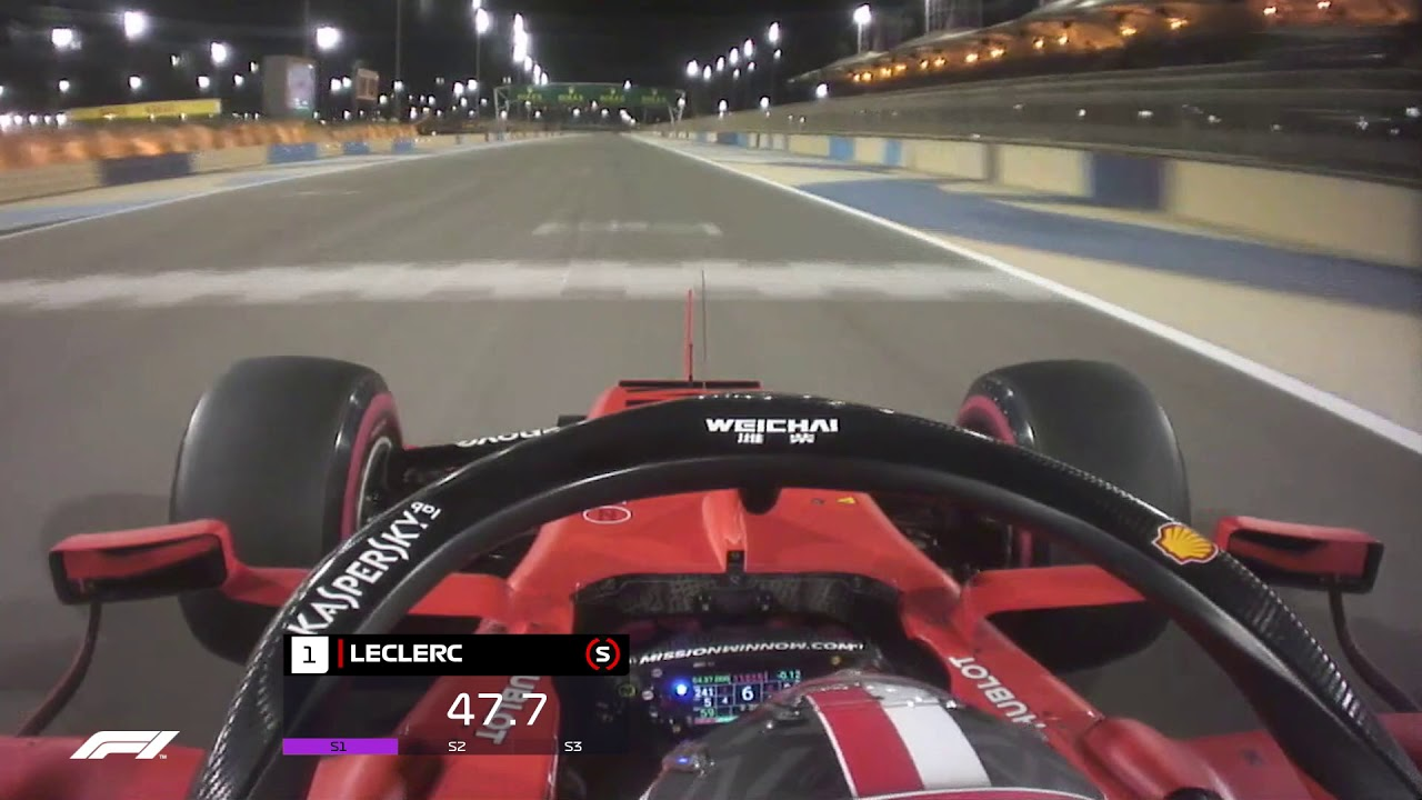 Photo of 2019 Bahrain Grand Prix: Charles Leclerc's Onboard Pole Lap | Pirelli