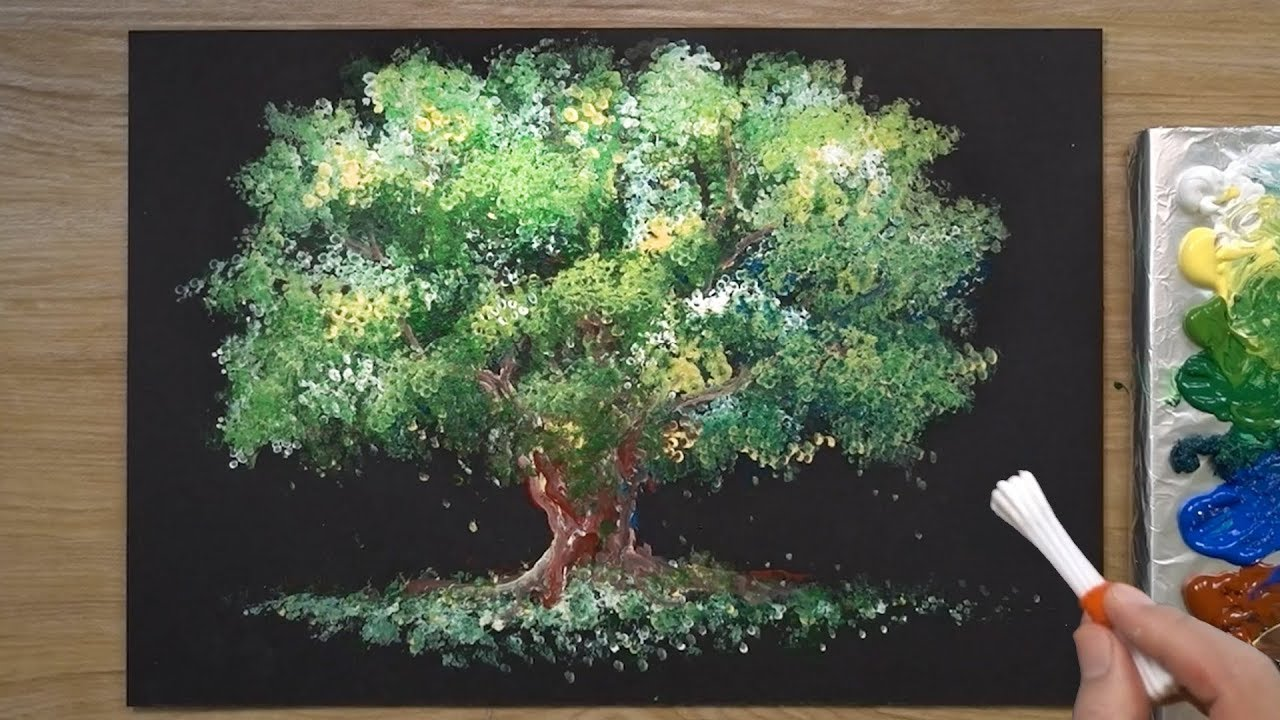 Photo of How to Paint a Tree in Acrylic #323