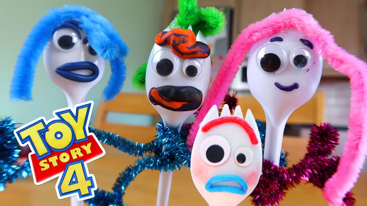 Photo of HOW TO MAKE FORKY from TOY STORY 4 #toystory4