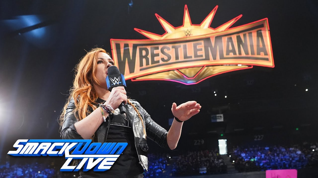 Photo of Becky Lynch recalls her Road to WrestleMania: SmackDown LIVE, April 2, 2019
