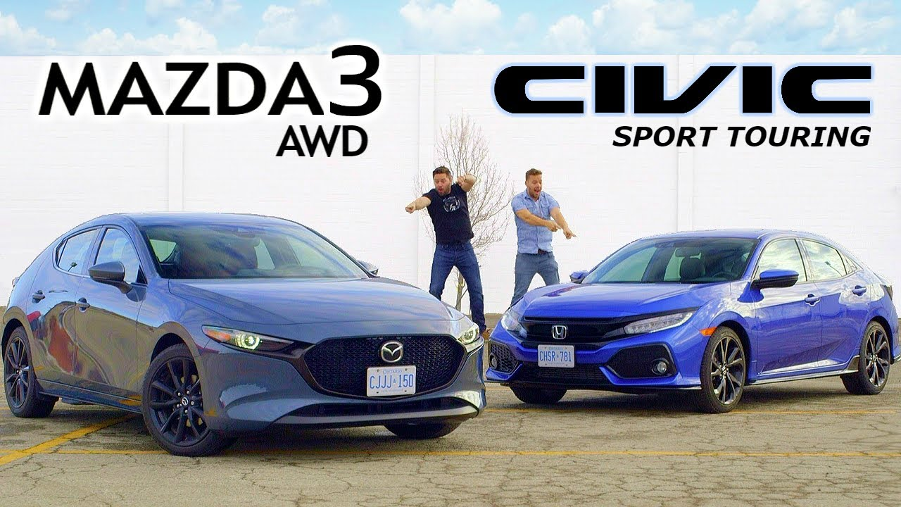 Photo of 2019 Mazda 3 AWD vs Honda Civic Sport Touring // Unpacking The Hype