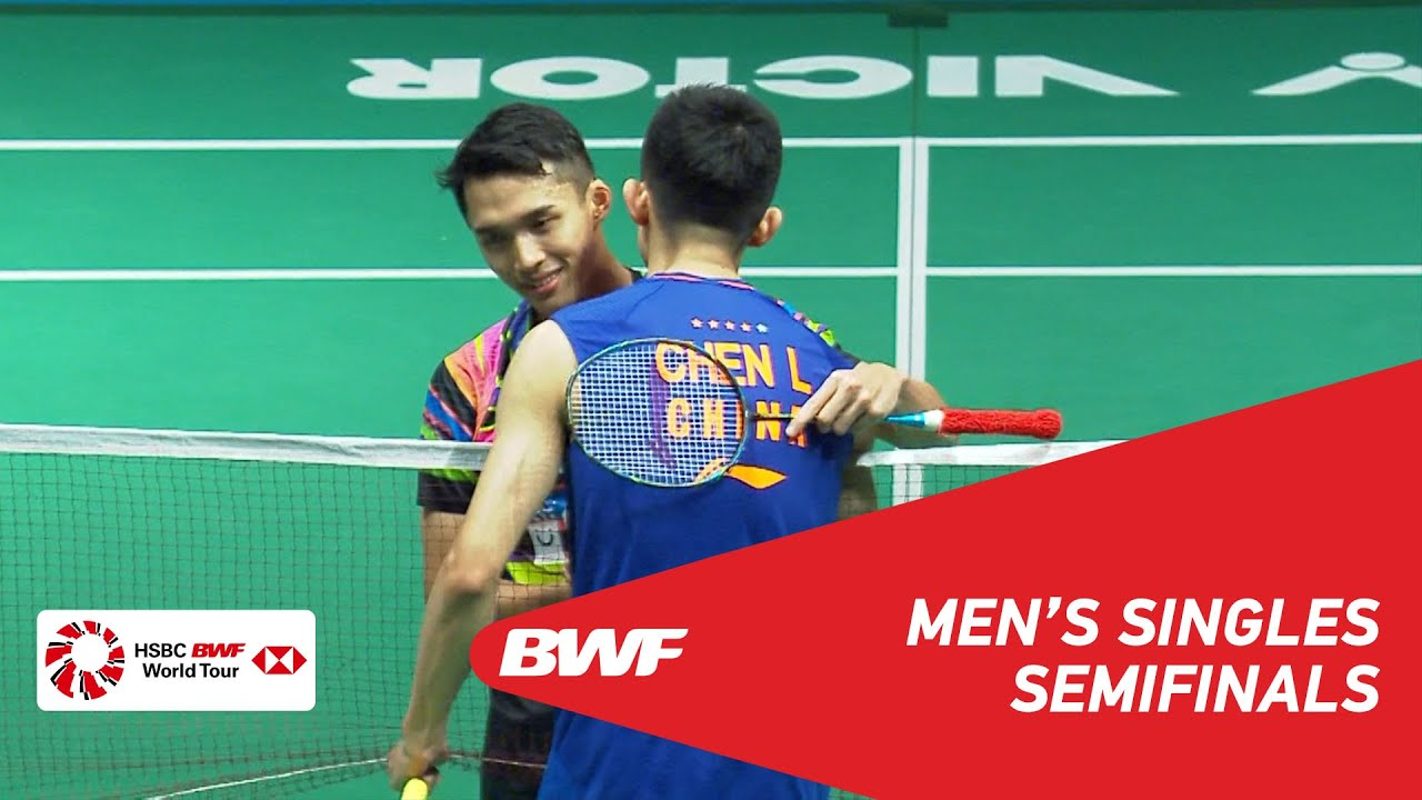 SF | MS | Jonatan CHRISTIE (INA) vs CHEN Long (CHN) [4] | BWF 2019