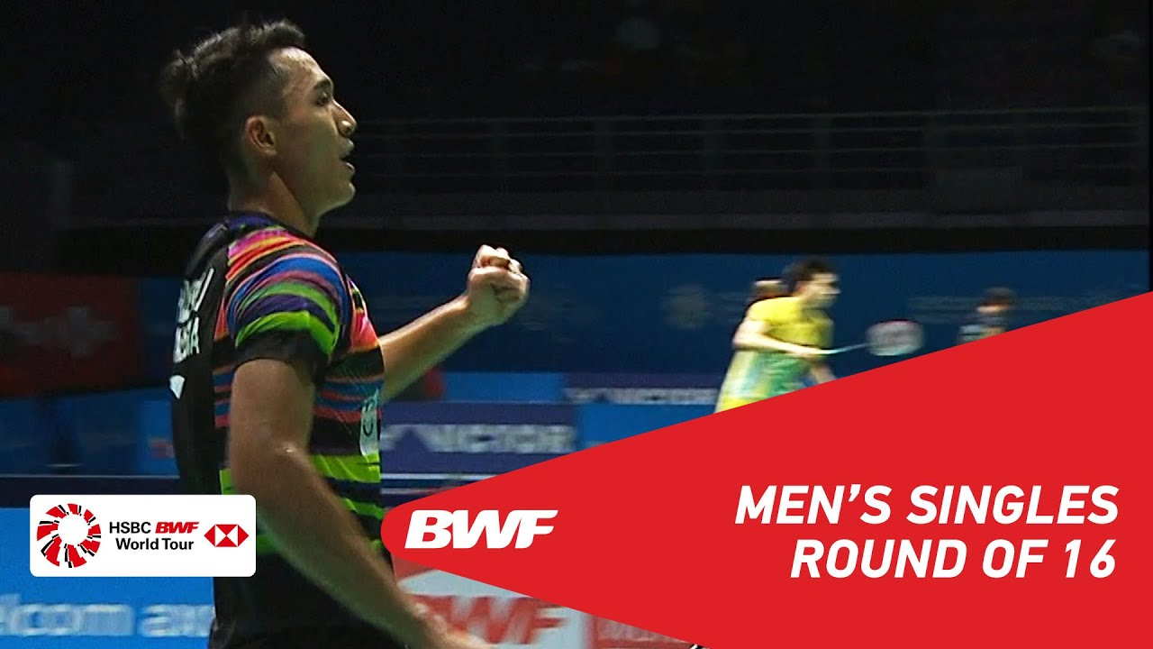 Photo of R16 | MS | Kento MOMOTA (JPN) [1] vs Jonatan CHRISTIE (INA) | BWF 2019
