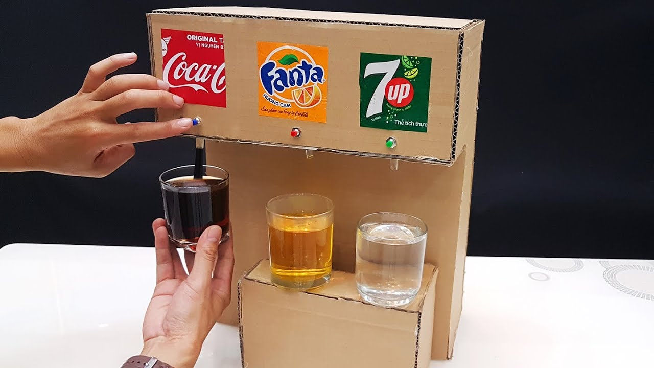 Photo of Experiments : How to make Automatic Machine Drinks