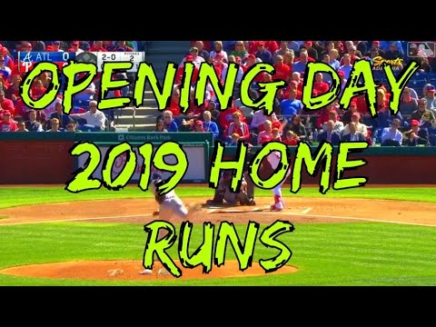 Photo of Opening Day 2019 Home Runs