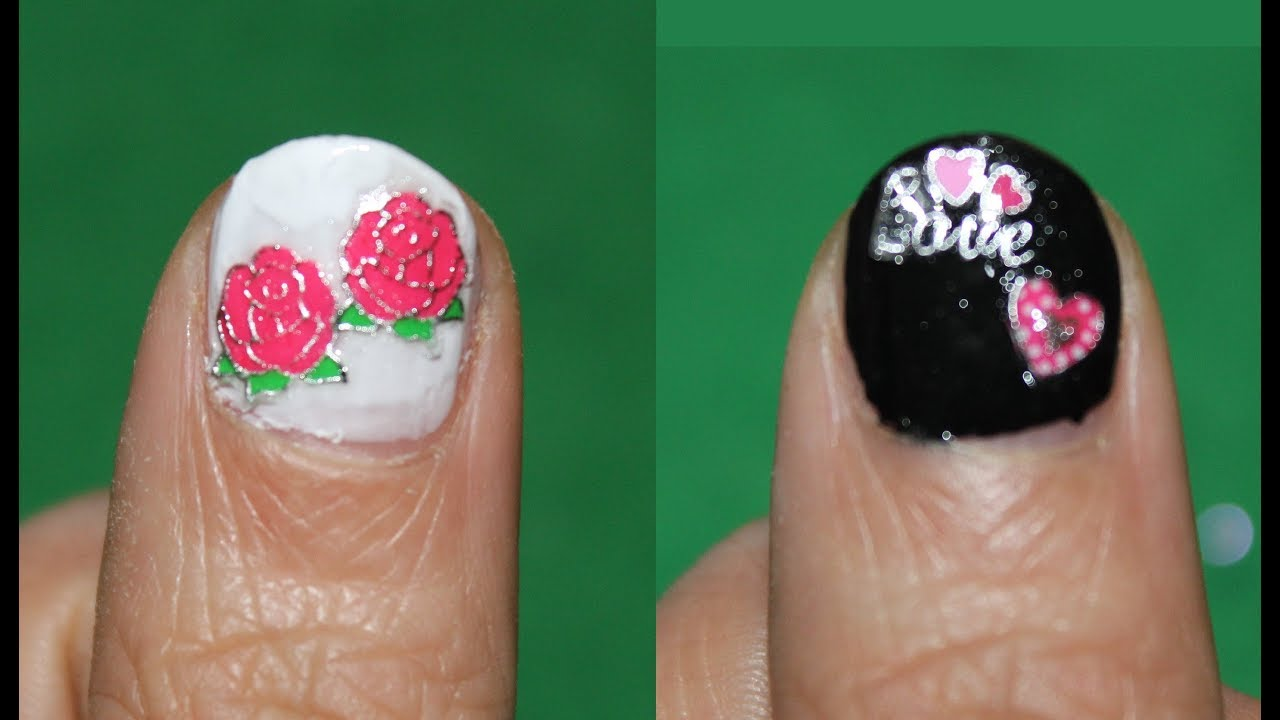 nail stickers with gel polish for kids