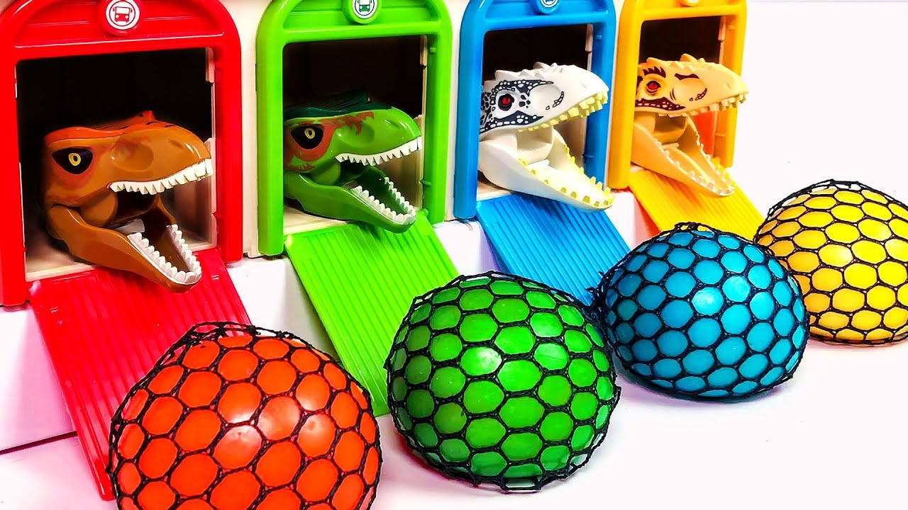 Photo of Learn Colors | Educational Video | Toy Dinosaurs for Children | Jurassic World Toy For Kids