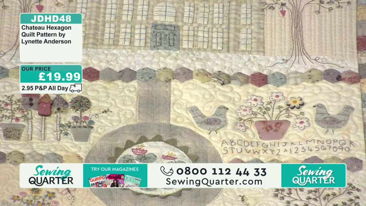 Sewing Quarter – Monday 8th April 2019
