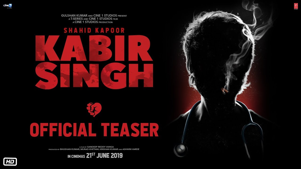 Photo of Kabir Singh – Official Teaser | Shahid Kapoor, Kiara Advani | Sandeep Reddy Vanga | 21st June 2019