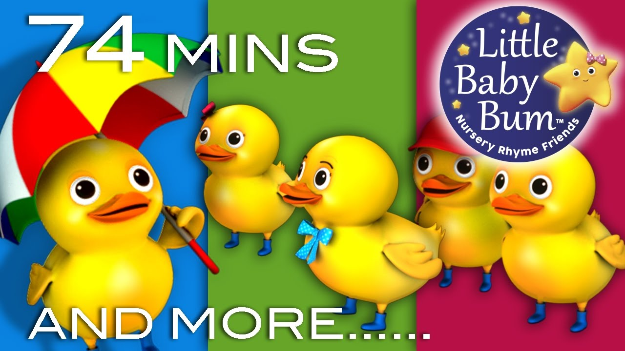Photo of Five Little Ducks | Little Baby Bum | Nursery Rhymes for Babies | Videos for Kids