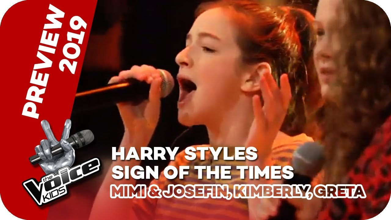 Photo of Harry Styles – Sign of the Times (Mimi & Josefin, Kimberly, Greta) | PREVIEW | The Voice Kids 2019