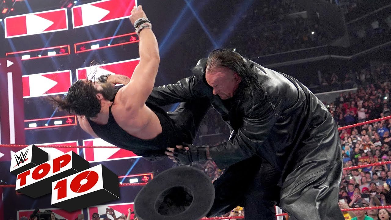 Photo of Top 10 Raw moments: WWE Top 10, April 8, 2019