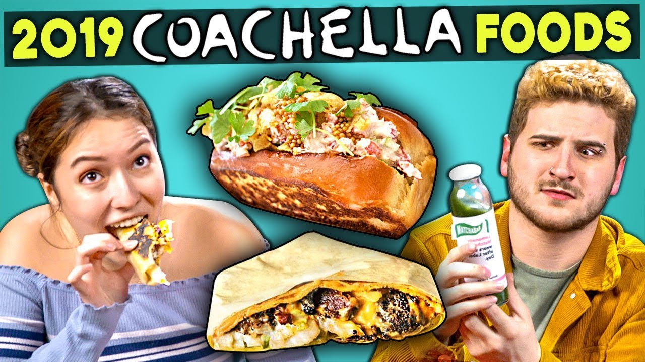 Adults Try 2019 VIP Coachella Foods | People Vs. Food