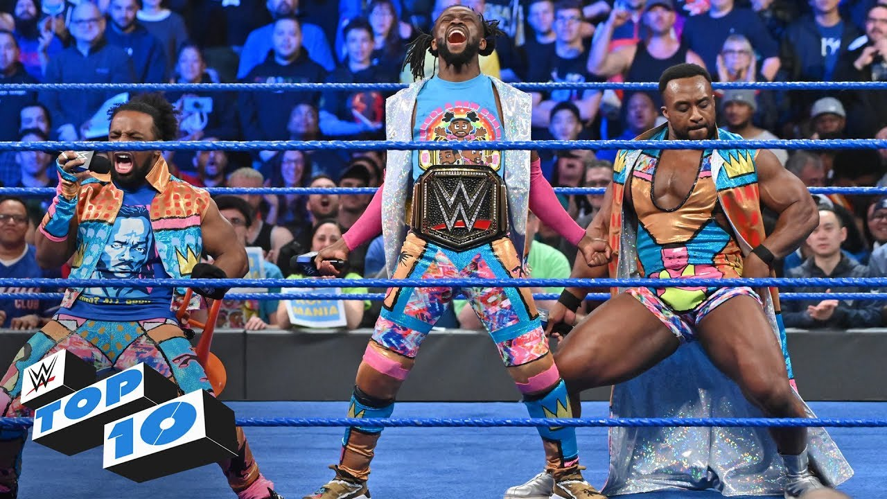 Photo of Top 10 SmackDown LIVE moments: WWE Top 10, April 9, 2019
