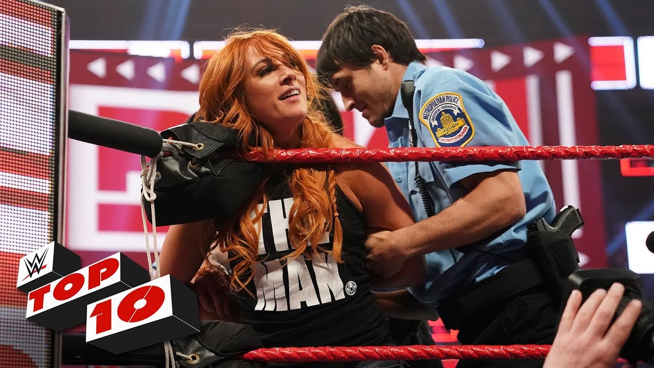 Photo of Top 10 Raw moments: WWE Top 10, April 1, 2019
