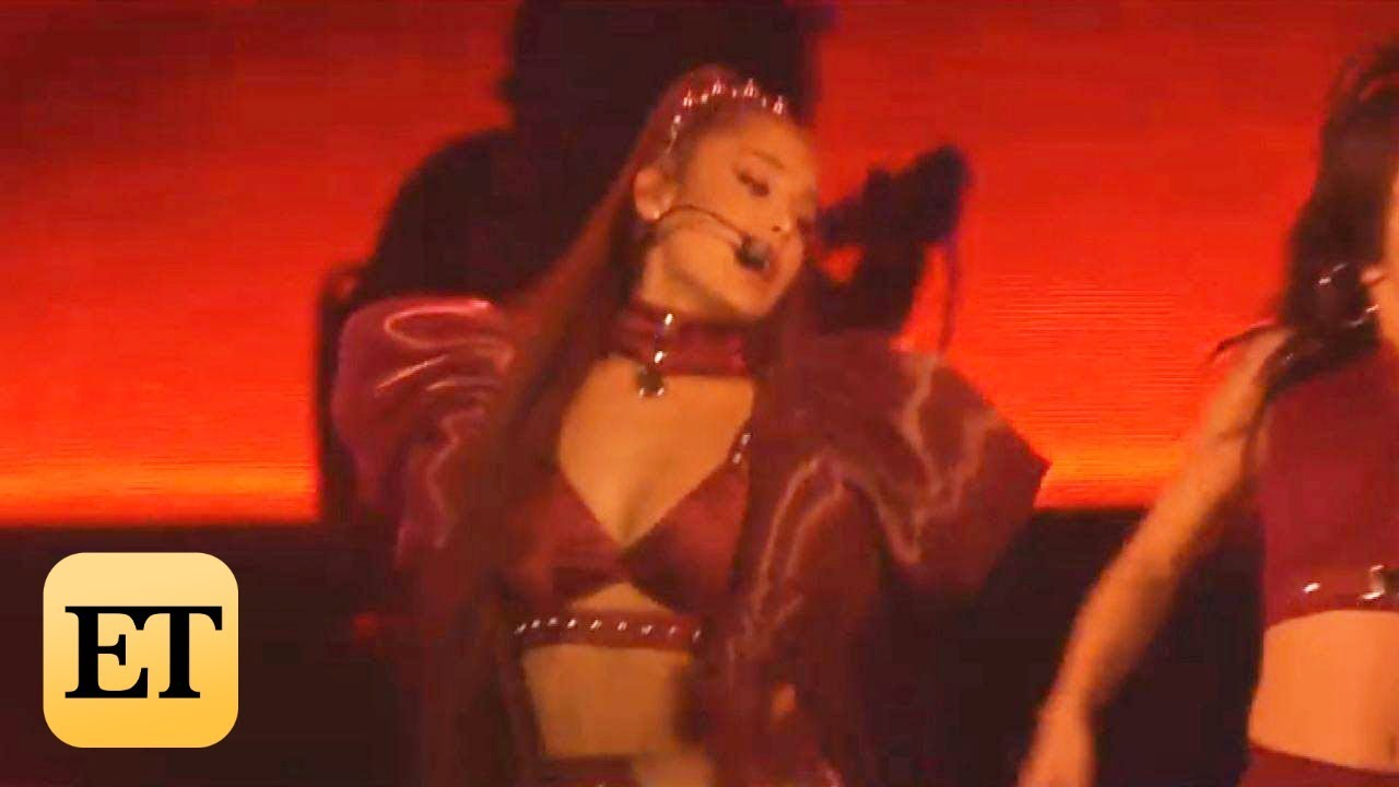 Photo of Coachella 2019: Ariana Grande Brings Out *NSYNC and Chokes Up During Mac Miller Tribute