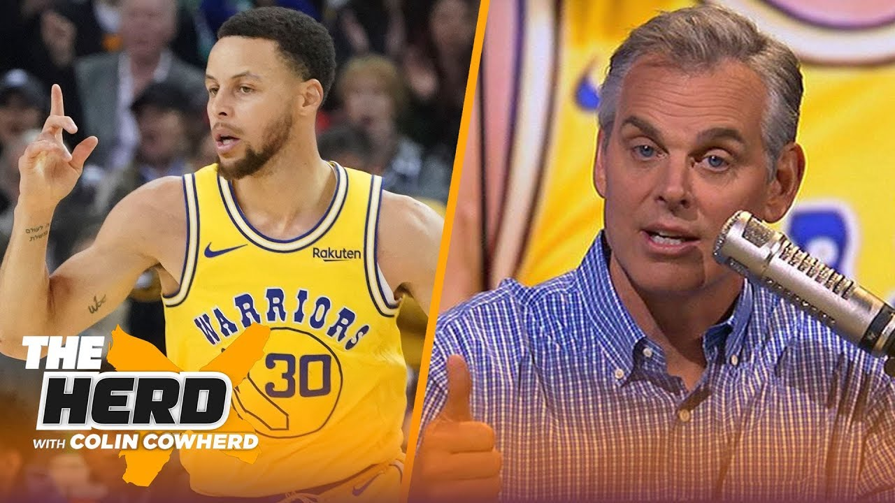 Photo of Colin Cowherd makes his first round 2019 NBA playoff predictions | NBA | THE HERD