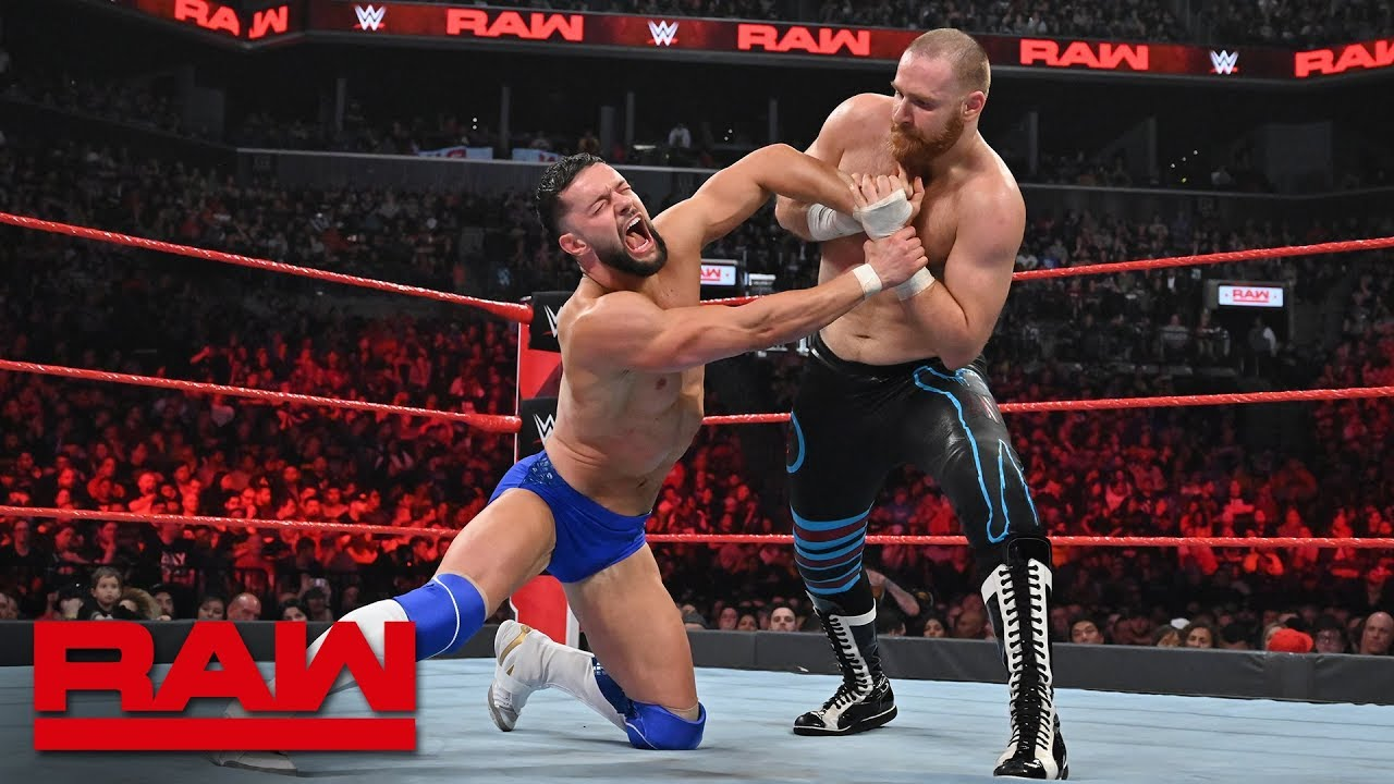Finn Bálor vs. Sami Zayn – Intercontinental Championship Match: Raw, April 8, 2019