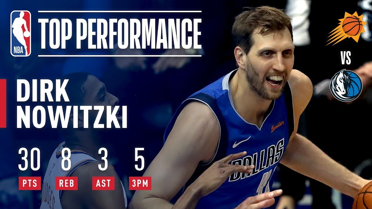 Photo of Dirk Nowitzki Drops 30 Points in FINAL Home Game | April 9, 2019