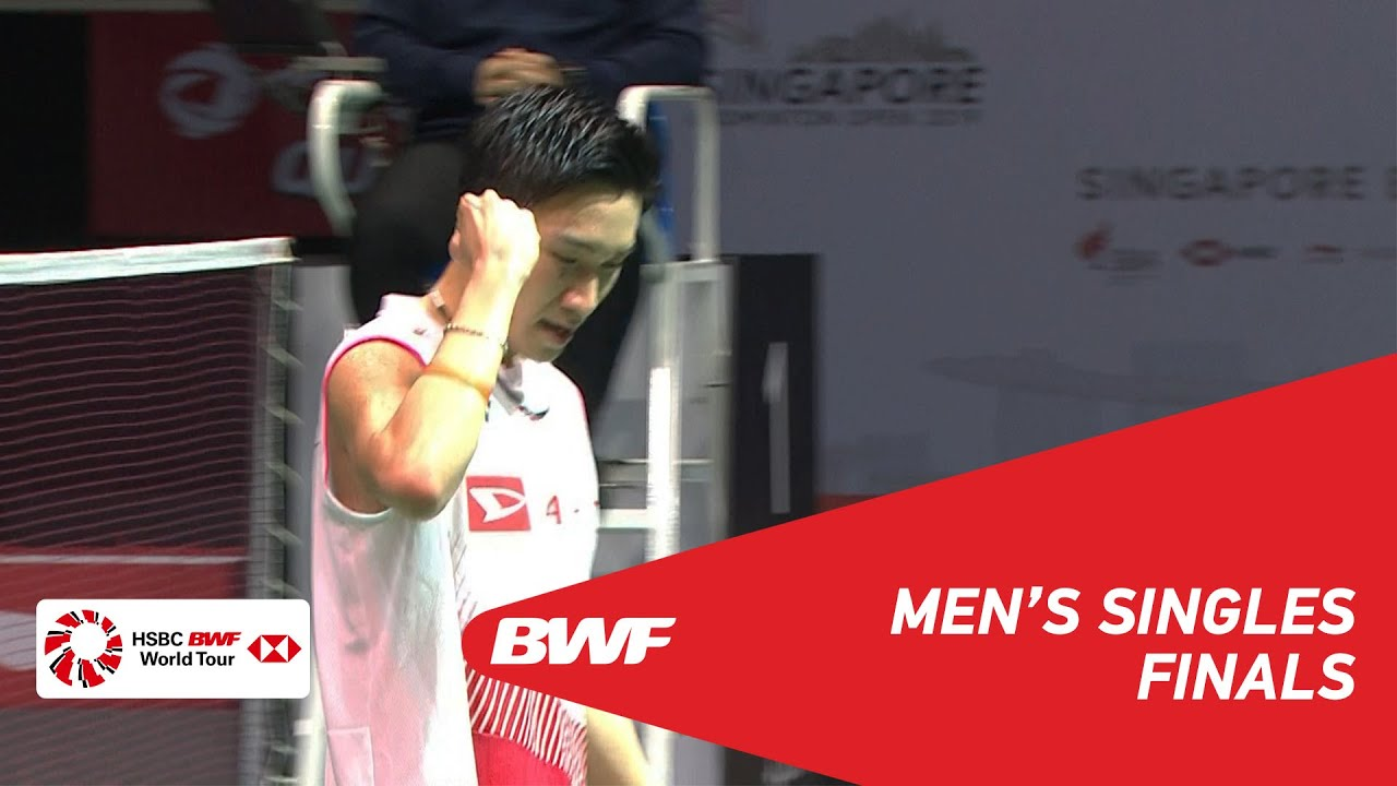 F | MS | Kento MOMOTA (JPN) [1] vs Anthony Sinisuka GINTING (INA) [7] | BWF 2019