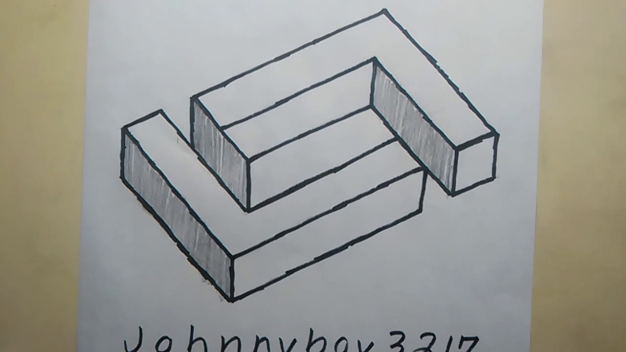 Photo of How To Draw the Impossible Shape Maze Step By Step Optical Illusions