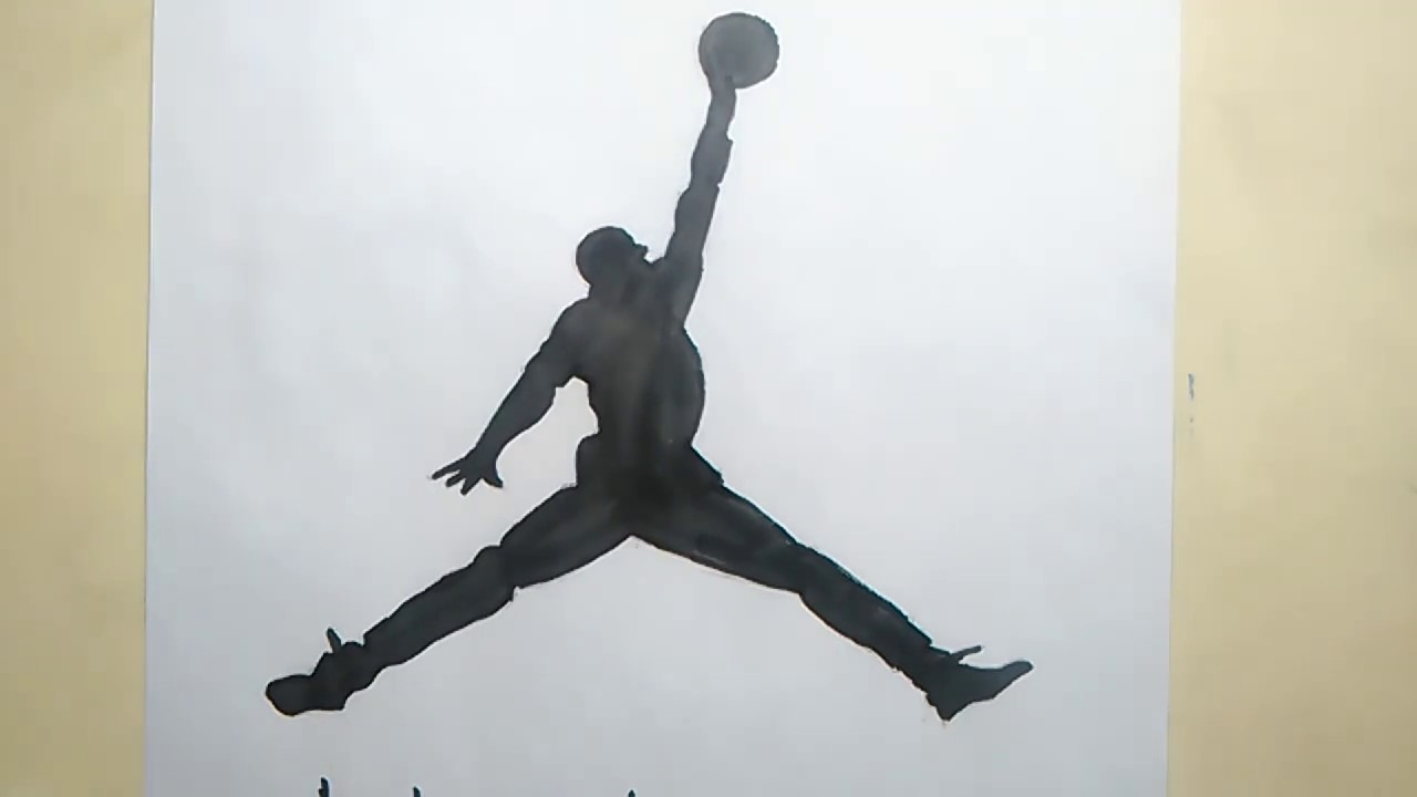Photo of How To Draw The Jordan Logo Basketball Nike #23 Michael