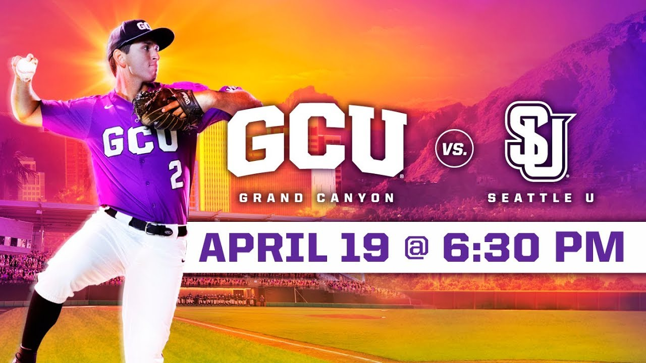 Photo of GCU Baseball vs. Seattle U April 19, 2019