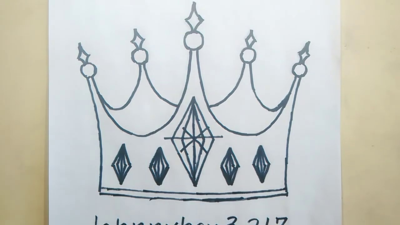 Photo of How To Draw A Crown Step By Step King For Kids Cartoon Prince Royalty