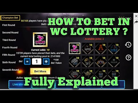 Photo of WC Lottery Explained – Free Fire World Cup