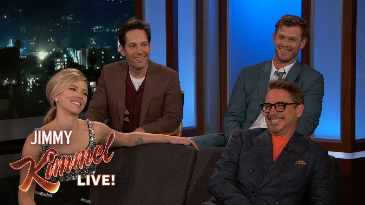 Photo of Avengers Cast on Premiere, Favorite Lines, Matching Tattoos & Birthday Gifts