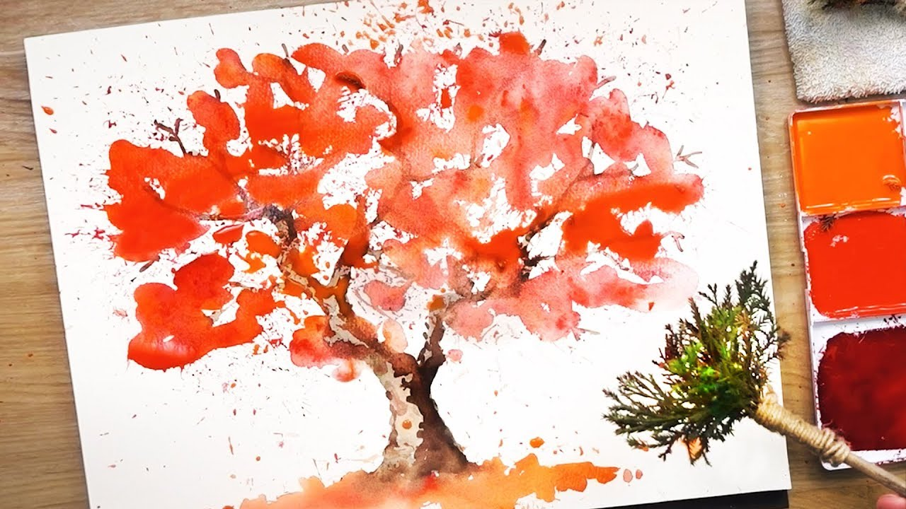 Photo of How to paint watercolors using your own paint brushes